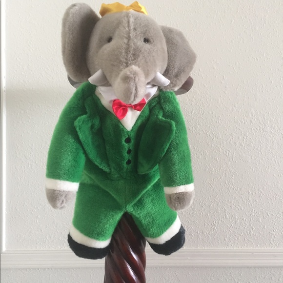 Accessories Vintage Babar The Elephant Collectible Backpack Poshmark